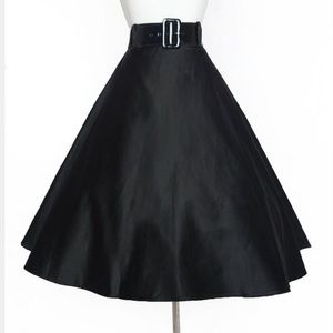 Black Doris Skirt